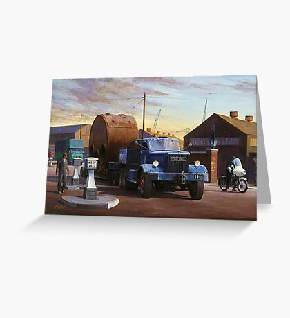Pickfords' Diamond T Greeting Card