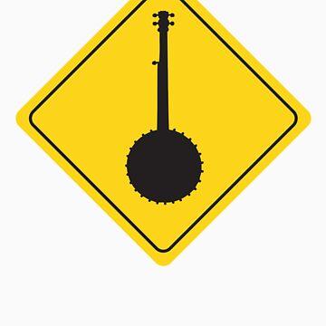 Beware of the Banjo USA by TheBlackPig