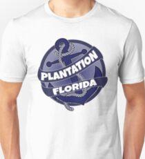 Plantation Florida anchor swirl Unisex T-Shirt