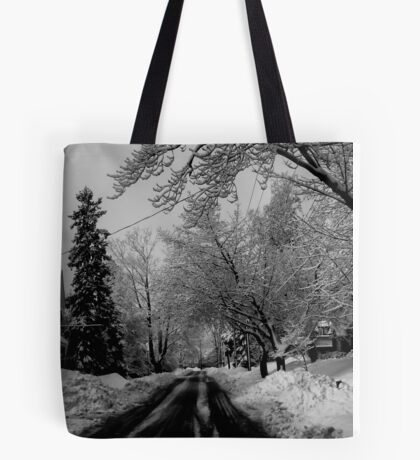 A Good Day to Hibernate Tote Bag