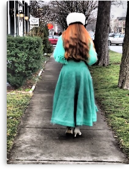 The Lady in Green by Rebecca Reist