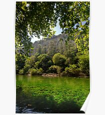 River Sorgue Poster