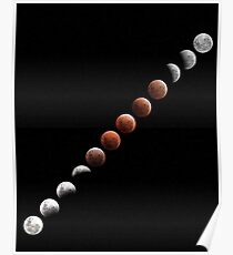 Lunar Eclipse - December 10 2011 Poster