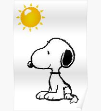 Happy snoopy Poster