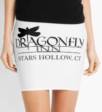 Dragonfly Inn shirt - Gilmore Girls, Stars Hollow, Lorelai, Rory Mini Skirt