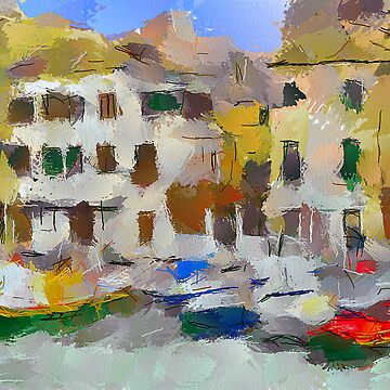 Venice: Houses on Canal by yumas