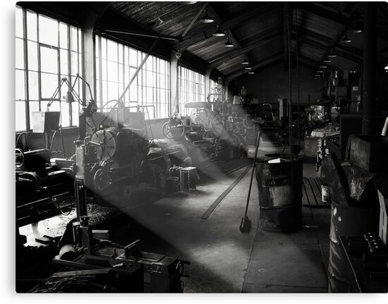 Light Engineering Shop by Peter Denniston