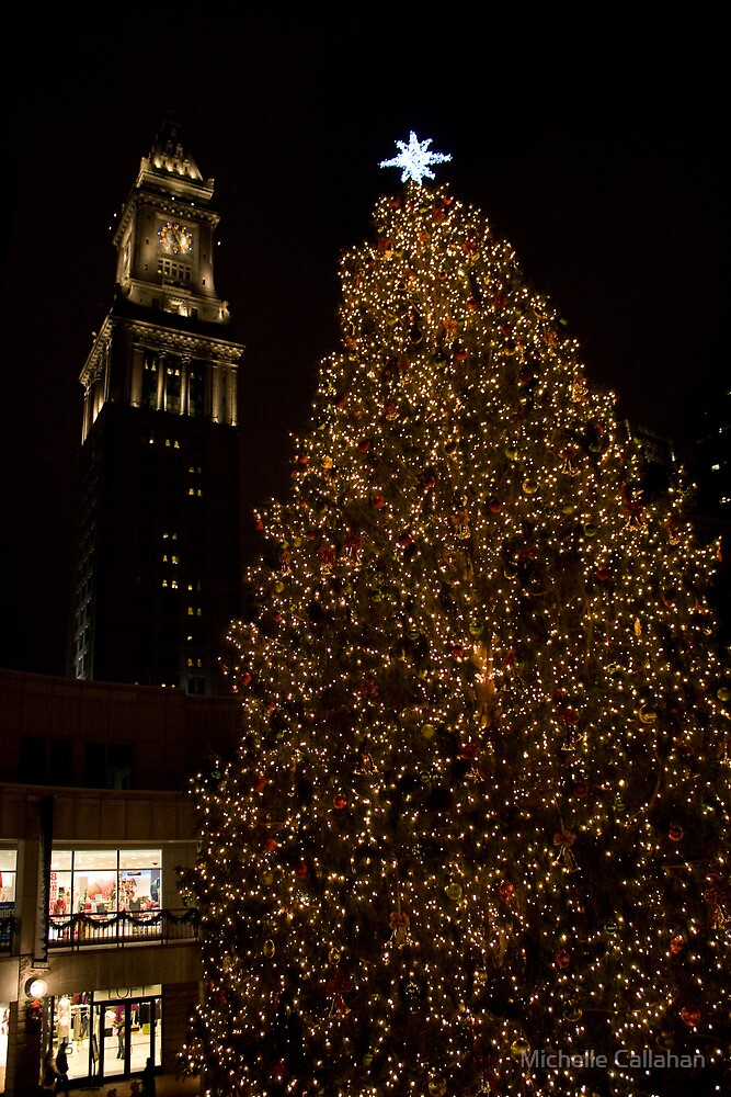 Fanuel Hall at Christmas by Michelle Callahan