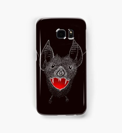 Flying Vampire Bat likes you a lot Samsung Galaxy Case/Skin