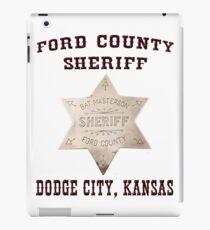 Ford County Sheriff iPad Case/Skin