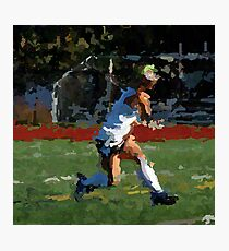 100511-085- 0 p & ink-field hockey Photographic Print