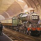 Paddington arrival. by Mike Jeffries