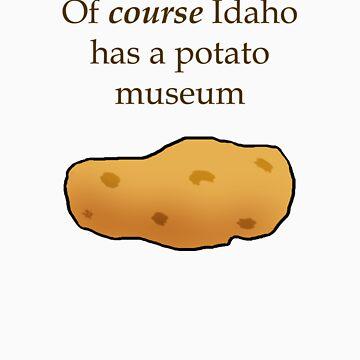 Idaho Potato Museum by nativeminnow