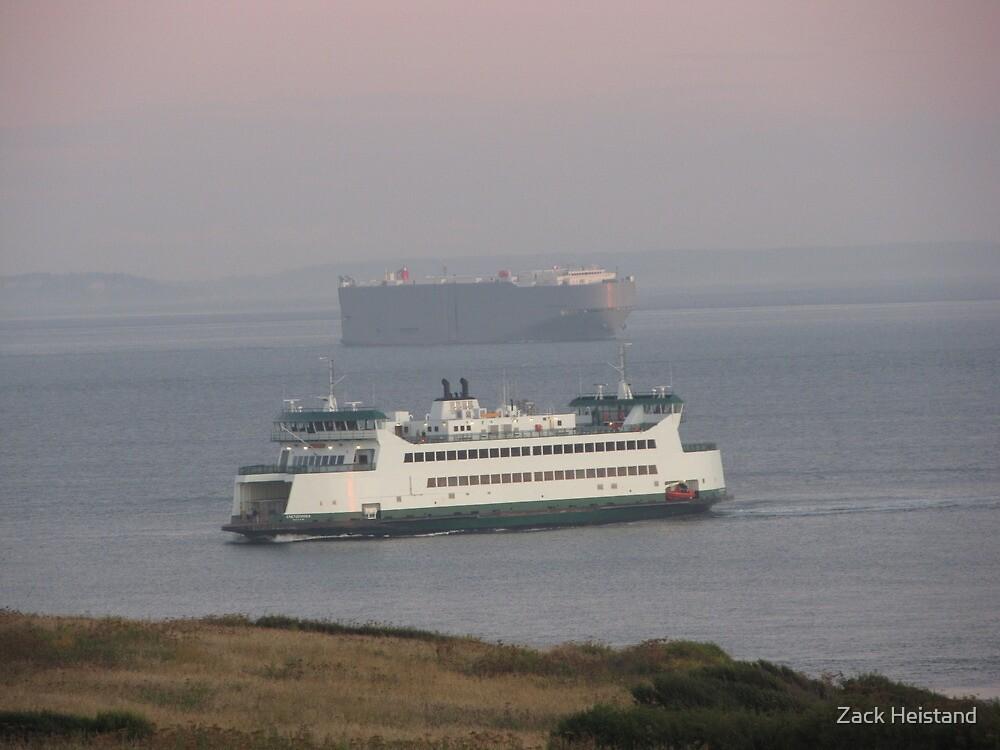 Washington State Ferry Chetzemoka arriving Keystone by Zack Heistand