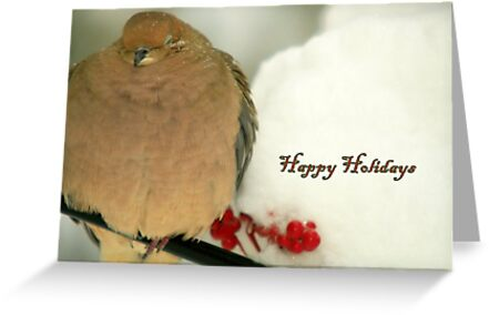 Holiday Dove by Leswhippen