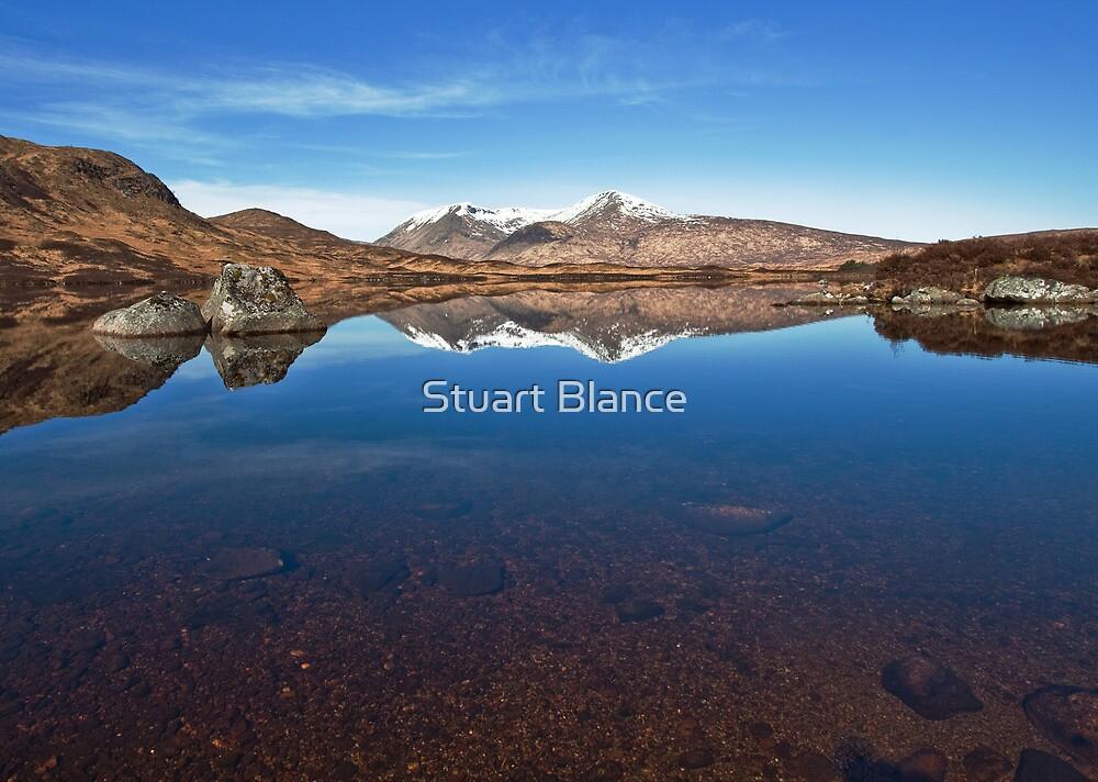 The Black Mount by Stuart Blance