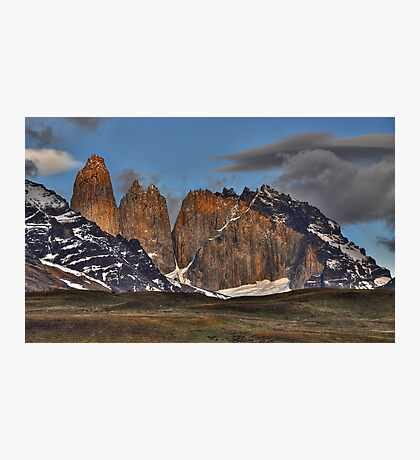 The Peaks of Torres del Paine Photographic Print