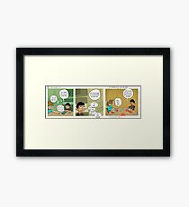 "Zebra-corn mini #10- ""Chili and Lime"" Framed Print"