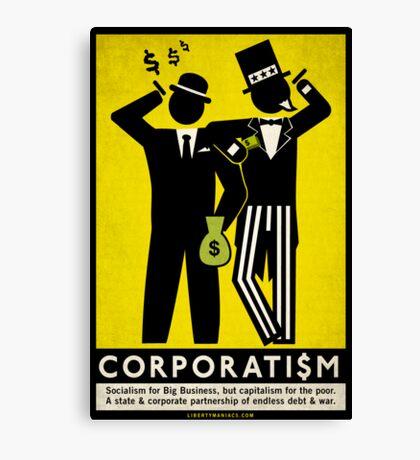 Corporatism  Canvas Print