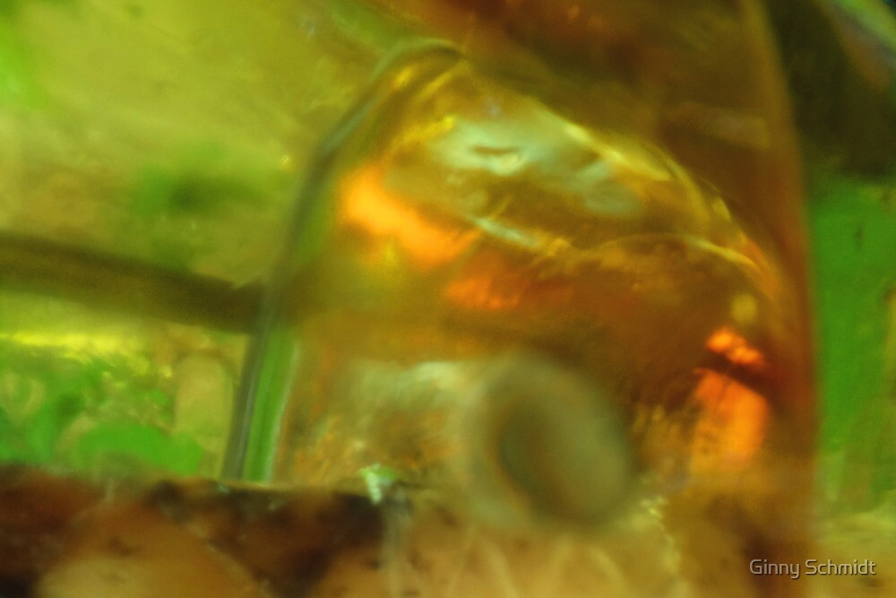 CHARTREUSE SERIES Abstract IX by Ginny Schmidt
