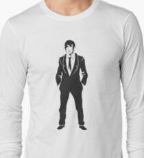 SebastiAn - Total (Original Artwork 3) (Black) Long Sleeve T-Shirt