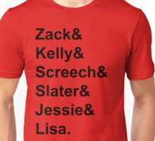 Saved By The Bell Tee Unisex T-Shirt