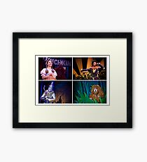 Off To See The Wizard-Four Friends-2 Framed Print