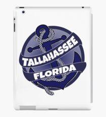 Tallahassee Florida anchor swirl iPad Case/Skin