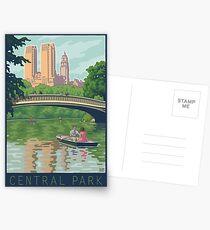 Bow Bridge in Central Park Postkarten