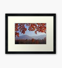 Layers of Autumn Framed Print