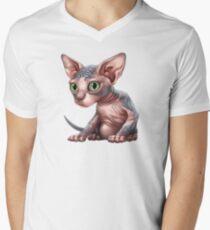 Cat-a-clysm: Sphynx kitten - Classic T-Shirt