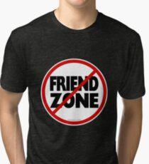 No Friend Zone Tri-blend T-Shirt