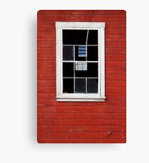 Old Window Canvas Print