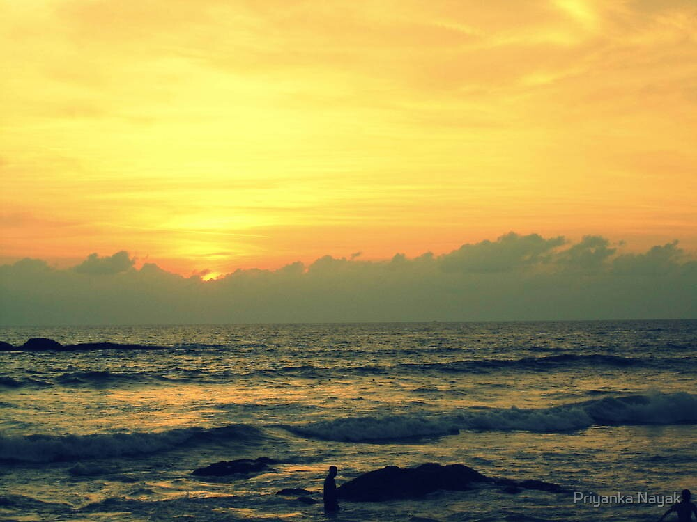 Suratkal Beach (Mangalore - India) - V by Priyanka Nayak