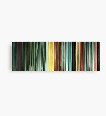 Moviebarcode: The Animatrix 9: Matriculated (2003) Canvas Print