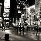 ''City at Night'' by Birgitta   †