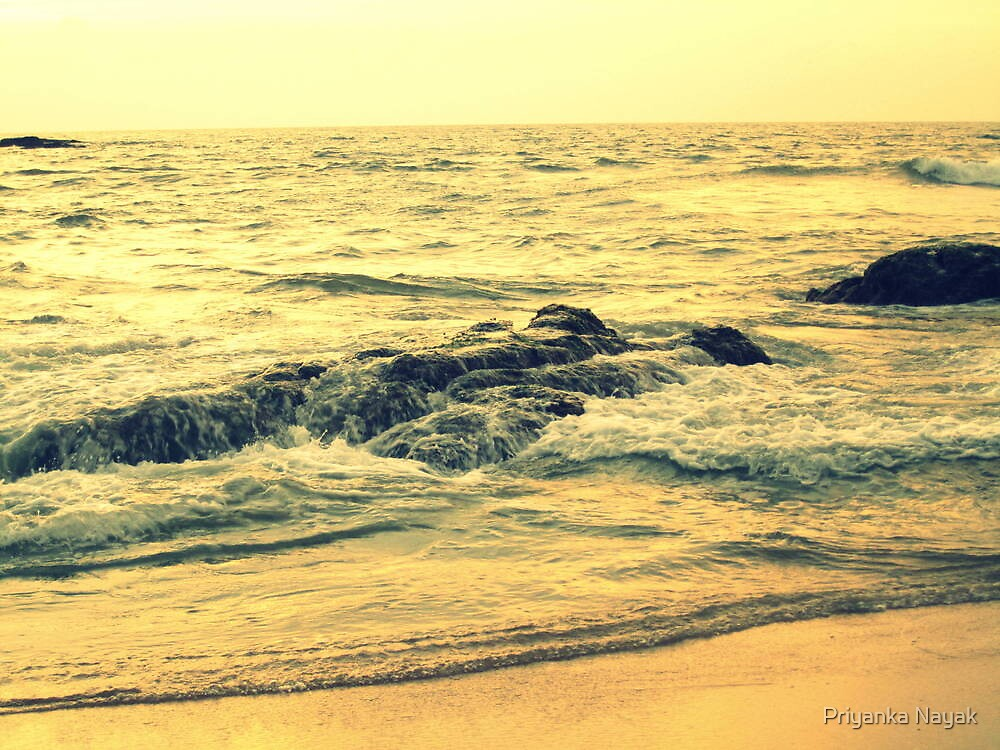 Suratkal Beach (Mangalore - India) - XI by Priyanka Nayak