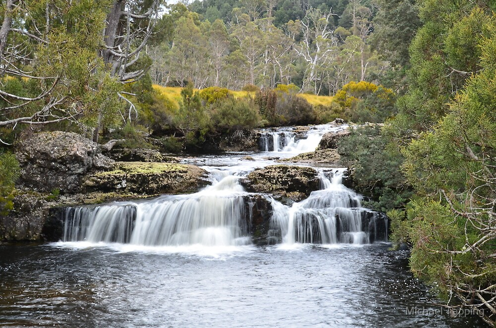 Falls - Cradle Mountain - Tasmania by Michael Tapping