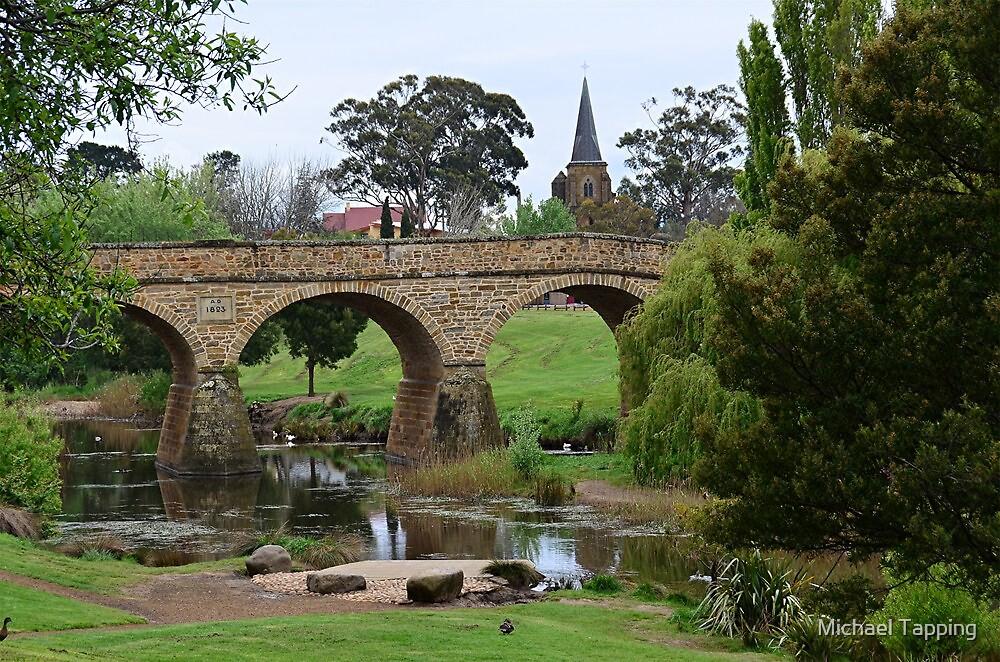 Richmond Bridge - Tasmania by Michael Tapping