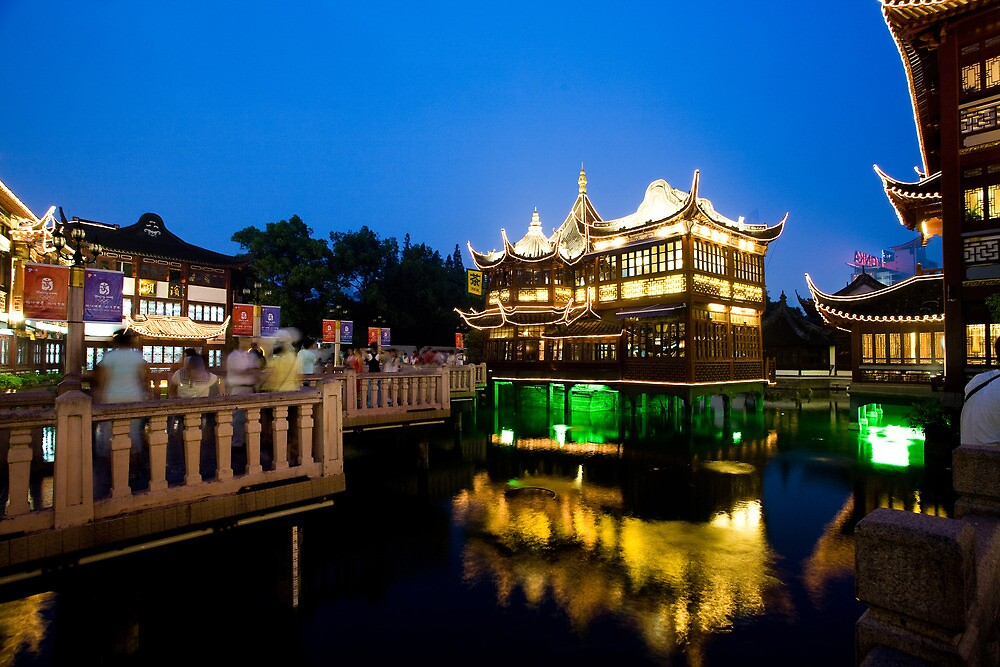 Yu Gardens, Shanghai by WoAi