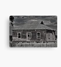 Rustic Rural Ruin Canvas Print