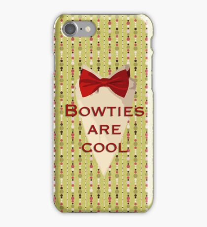 Bowties are cool, for iPhone iPhone Case/Skin