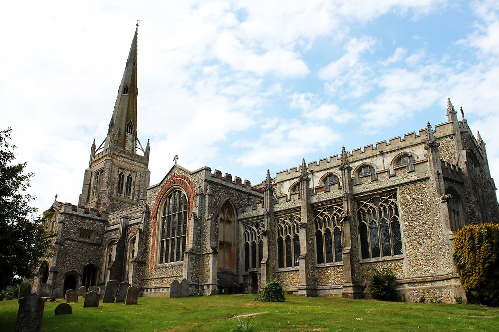 Thaxted Church  by Lottieemalyon