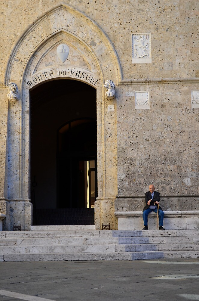 The Old Man of Siena by davefozz