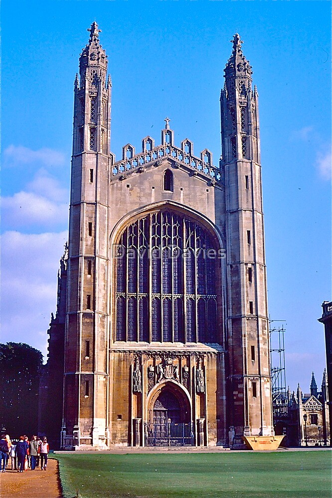 King's College Chapel, Cambridge by David Davies