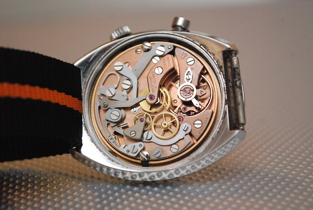Omega Chronostop Movement. Stunninng. by watches