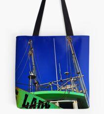 Lady Shrimper  Tote Bag