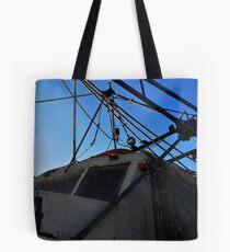 Old Shrimp Boat Tote Bag