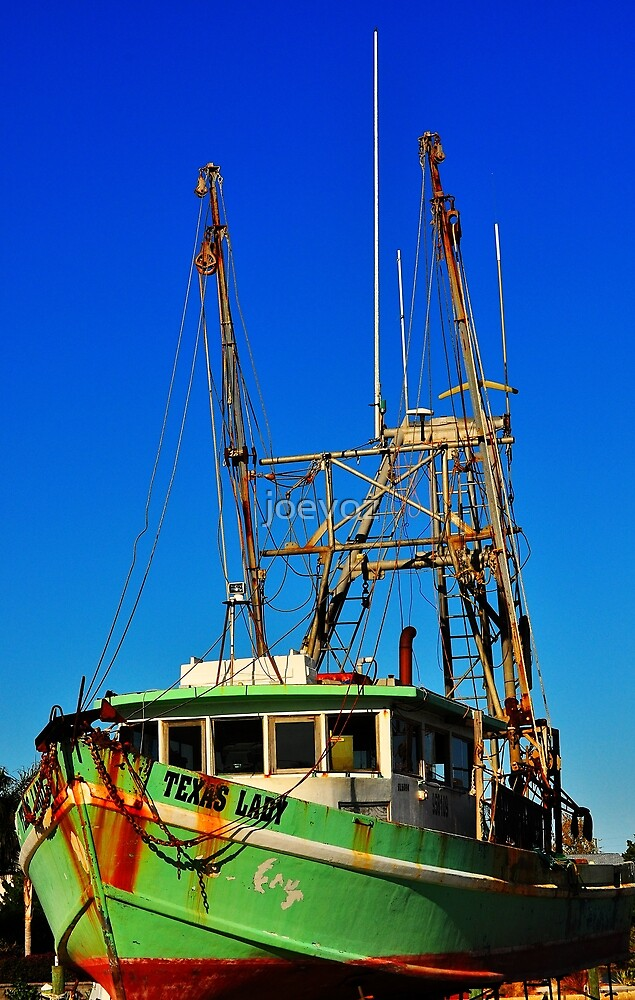 Texas Lady Shrimp Boat by joevoz