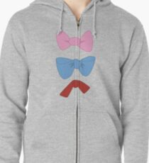 Marie, Toulouse, and Berlioz Zipped Hoodie